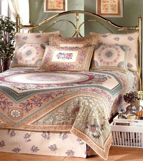 flemish tapestries and bedspreads at linen lace and patchwork