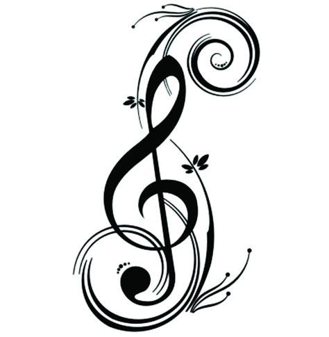 imagenes de notas musicales en forma de corazon fotos de clave de sol