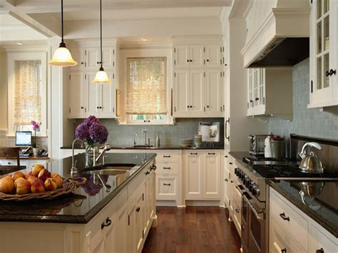 Kitchen With White Cabinets by Kitchens By Deane Antique White Kitchen Cabinets White