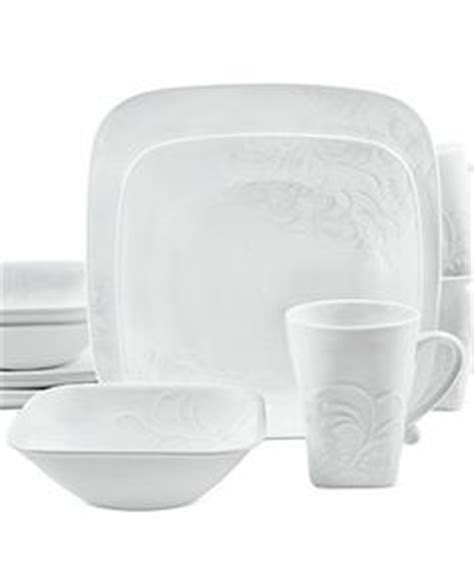 Microwaveable Cherish matalan swirl pattern square 12 box set in white and black this is my ideal dinner set