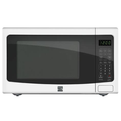 ge jes2051dnww white 2 cu ft countertop microwave oven