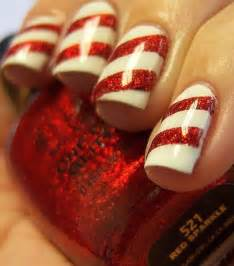 Easy Nail Art For Xmas | easy christmas nail art designs diy 2014