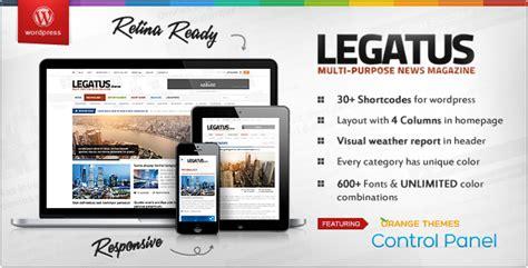 Best Free And Premium Best Wordpress Magazine Themes Themes4wp News Magazine Template