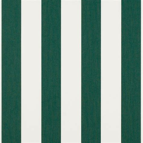 Awnings Fabric by Sunbrella Forest Green Bar 4806 0000 Awning