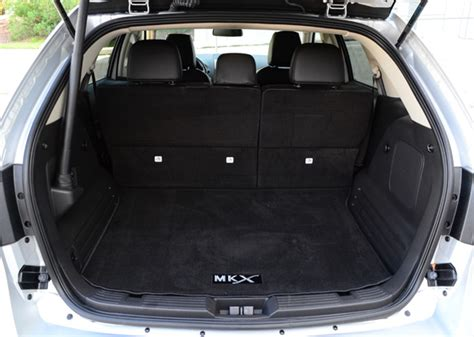 Mk Xs Luggage 2013 lincoln mkx luxury crossover review test drive