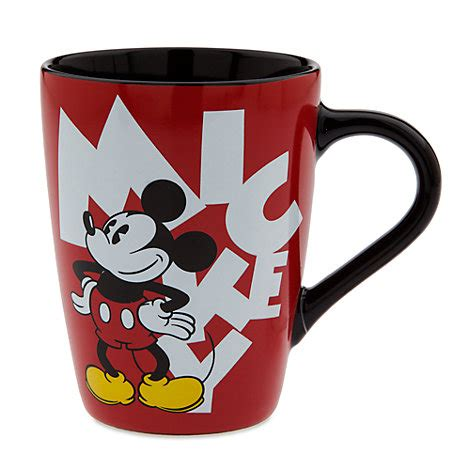 Mug Mickey Mouse mickey letters mug