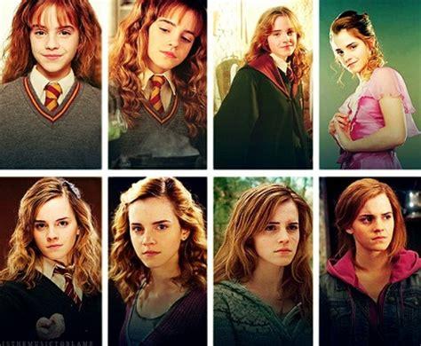 emma watson evolution hogwarts alumni hermione granger evolution