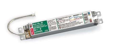 What Is A Ballast In A Fluorescent Light Fixture Lutron Introduces New Fluorescent Ballast With Built In Infrared Dimmer