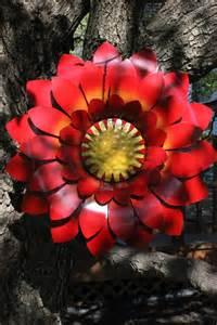 Metal Garden Flowers Outdoor Decor Outdoor Metal Flower Garden Decor Cut Metal Flower