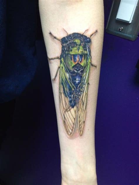 cicada tattoo cicada