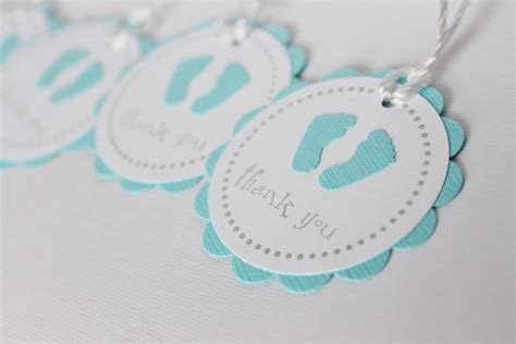 Printable Thank You Tags For Baby Shower Favors by 6 Best Images Of Black And White Baby Shower Gift Tag