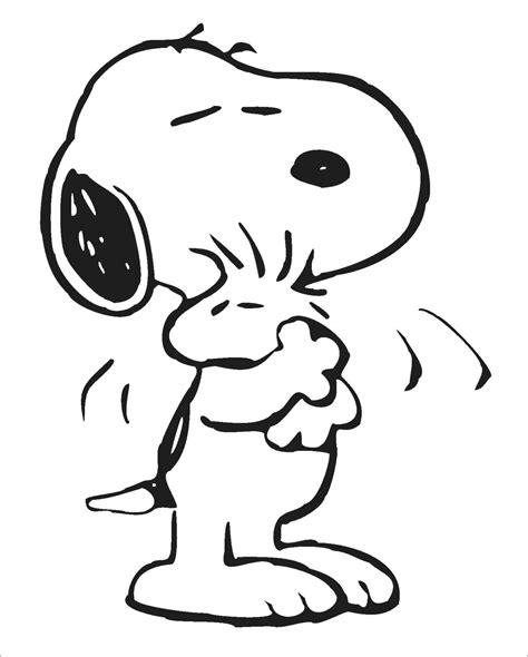 imagenes de snoopy de amor para dibujar snoopy 113 dibujos animados p 225 ginas para colorear