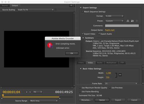 adobe premiere pro export video premier pro export issue adobe premiere pro