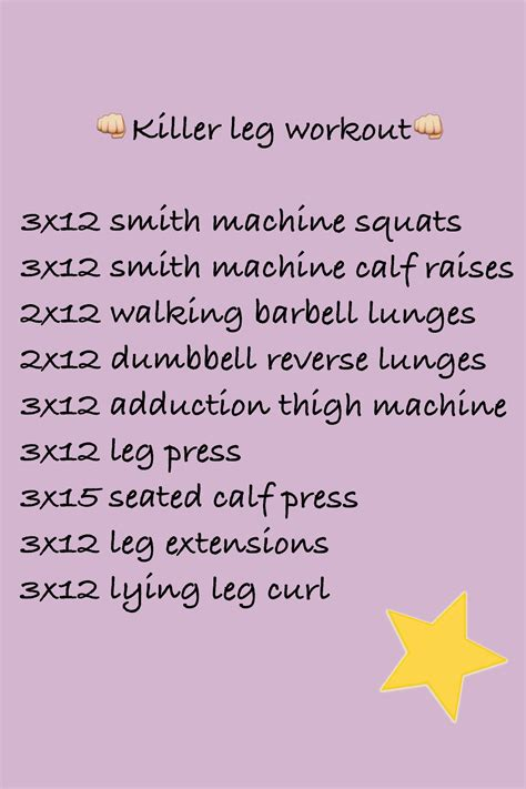 killer leg workout better than fit