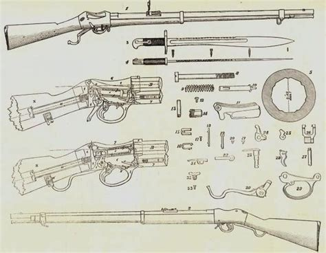 martini henry zulu martini henry diagram zulu war rifles
