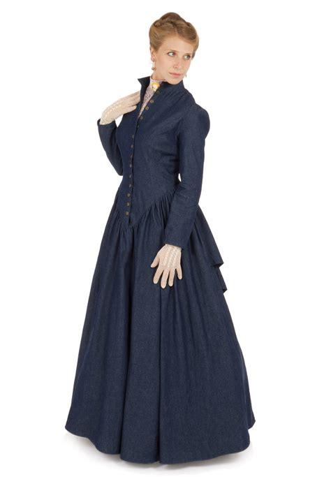 Denim Victoriaje Dress retta denim dress recollections