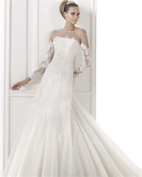 Pre Fall Part 2 Greyish Dress pronovias wedding dresses pre 2015 collection modwedding