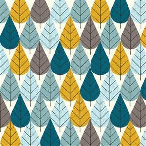 Sew Shower Curtain Charley Harper Octoberama Leaves Trees Mid Century Modern