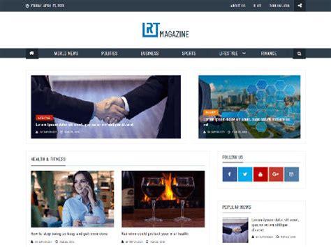 Theme Wordpress Rt Magazine Responsive Free Centerklik Theme Free Responsive Magazine