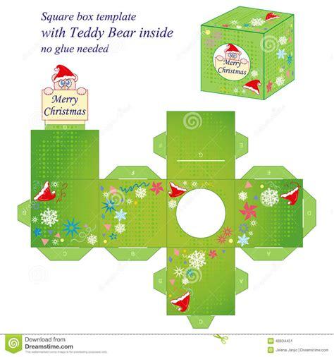Diy Miniatur Papercraft Taman Safari plantilla interesante de la caja de la navidad ilustraci 243 n