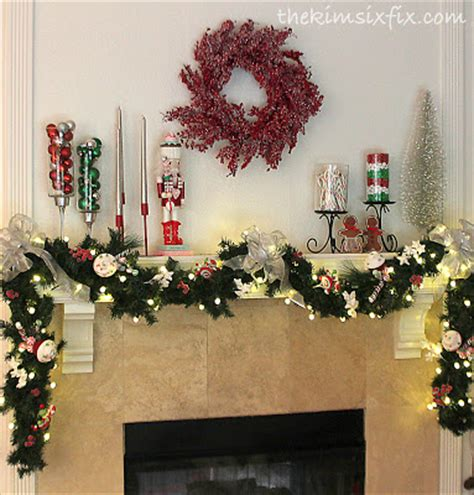 image of christmas mantle with nutcracker the nutcracker quot land of quot mantle the six fix