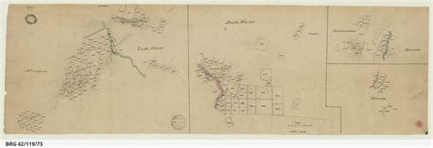Section Maps South Australia by Tracing Showing Sections In Hundreds Of Moorooroo