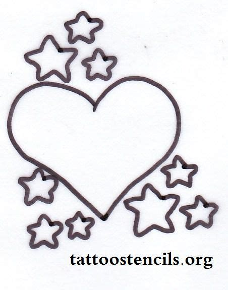 heart and stars tattoo designs designs design with hst 6