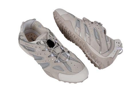 Geox Sneaker Damen by Geox Respira Snake V Schuhe Wei 223 Beige Damen Sneaker