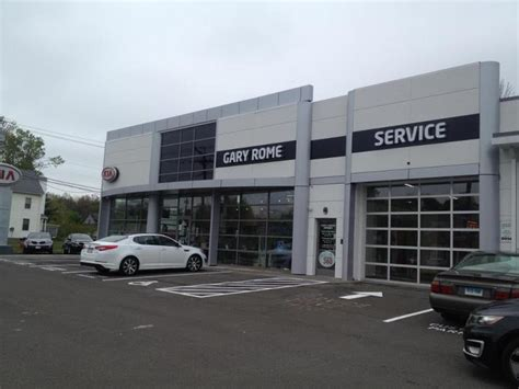 Gary Rome Kia Enfield Ct Gary Rome Kia Announces Dealership Grand Opening Gary