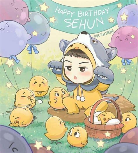 theme line chanbaek 17 best images about exo fanart on pinterest happy birth