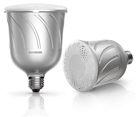 led light bulb speaker gift idea pulse smart led light bulbs with built in jbl
