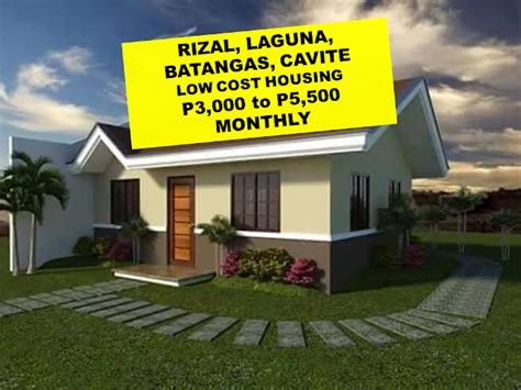 mortgage on a 500 000 house loan and mortgage plans for low cost house p3 000 to p5 500 monthly