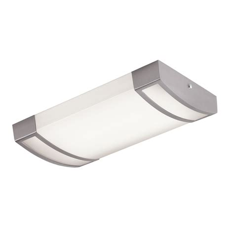 Shop Portfolio White Acrylic Ceiling Fluorescent Light Portfolio Ceiling Light