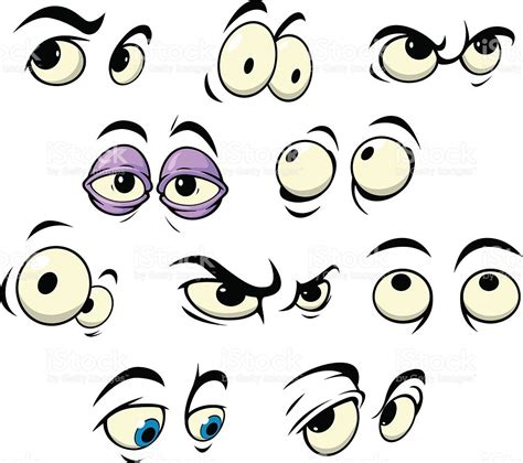 clipart occhi yeux dessin anim 233 avec diff 233 rentes expressions cliparts