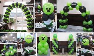 minecraft dekoration balloons in lapu lapu city mactan cebu balloons and