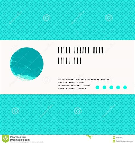 aqua card make a payment vector card with watercolour circle in aqua blue royalty