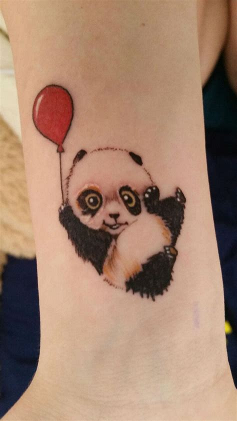 panda tattoos 22 totally panda tattoos designbump