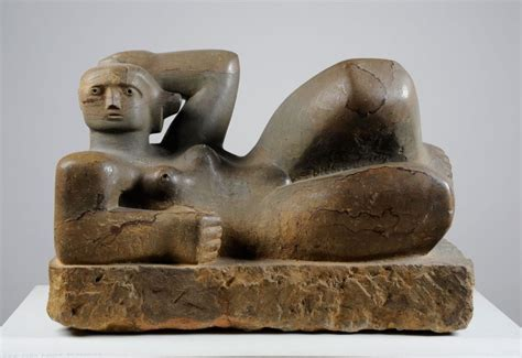 Reclining Figure Sculpture by Leeds Sculpture Collection Collections Henry