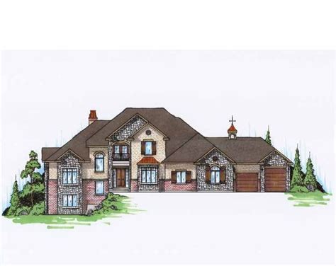 eplans country house plan european traditional