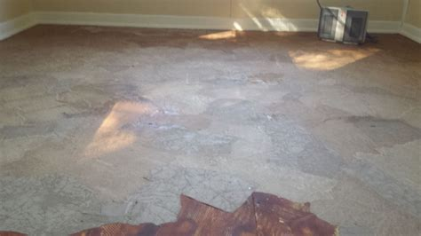 Decoupage Concrete Floor - hometalk worthy results without a my version
