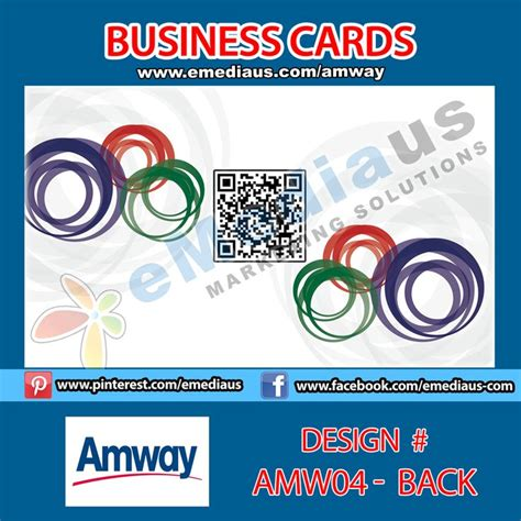 business card template for portfoli amw04 back design business card 3 5 x 2 amway