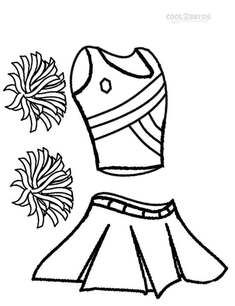 cheerleading coloring pages printable cheerleading coloring pages for cool2bkids
