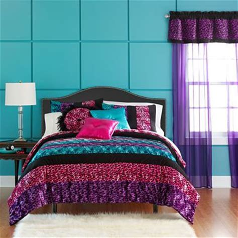 jcpenney girls bedding seventeen 174 pop art animal comforter set more jcpenney