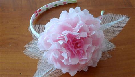 tutorial fiore organza tutorial cerchietti per damigelle con fiori di carta