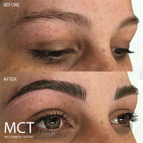 3d effect hair stroke eyebrow tattoo portfolio my cosmetic
