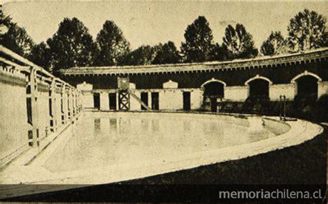 fotos antiguas quinta normal piscina de la quinta normal 1923 memoria chilena