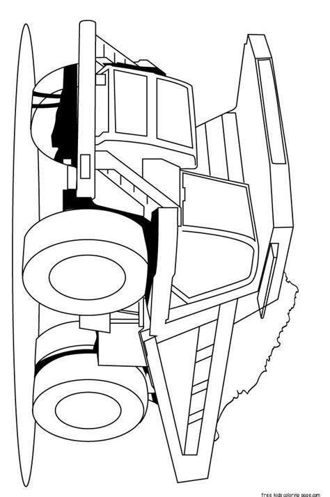 peterbilt semi truck coloring pages sketch coloring page print out peterbilt semi truck coloring pages for kidsfree