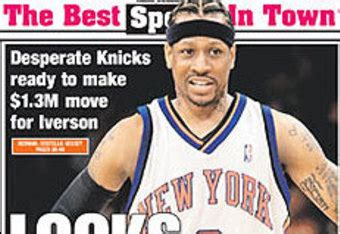allen iverson come off the bench allen iverson not coming to new york what now for the