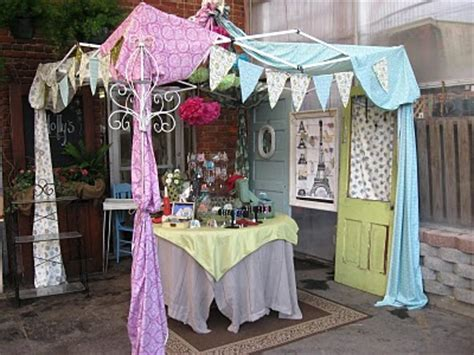 how to decorate a market tent bienvenue from horton s flea market elegance