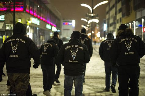 soldiers of soldiers of odin neo white supremacist led vigilantes